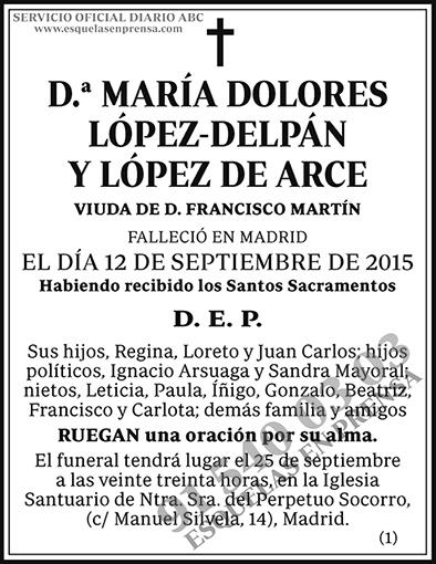 María Dolores López-Delpán y López de Arce